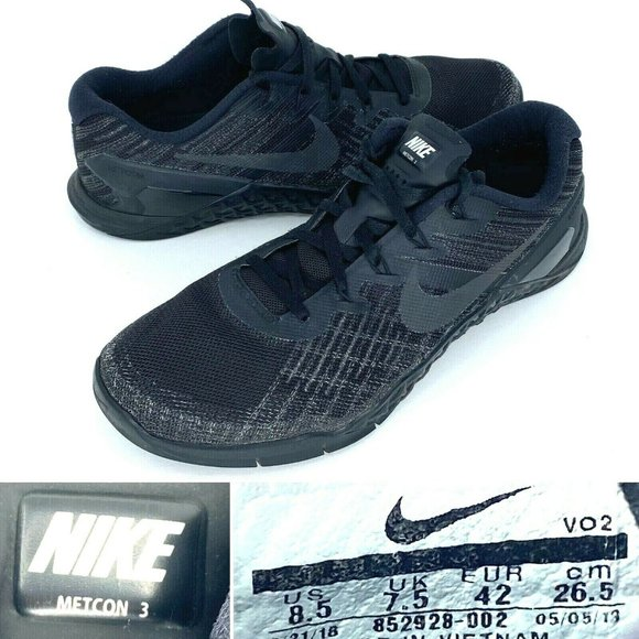 Nike Other - Nike Metcon 3 Mens Cross Training Athletic Shoes